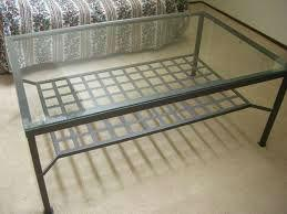 Ikea Salontafel Met Glas.Tafel Met Glasplaat Gallery Of Lounge Meubilair Tafel Met Glasplaat